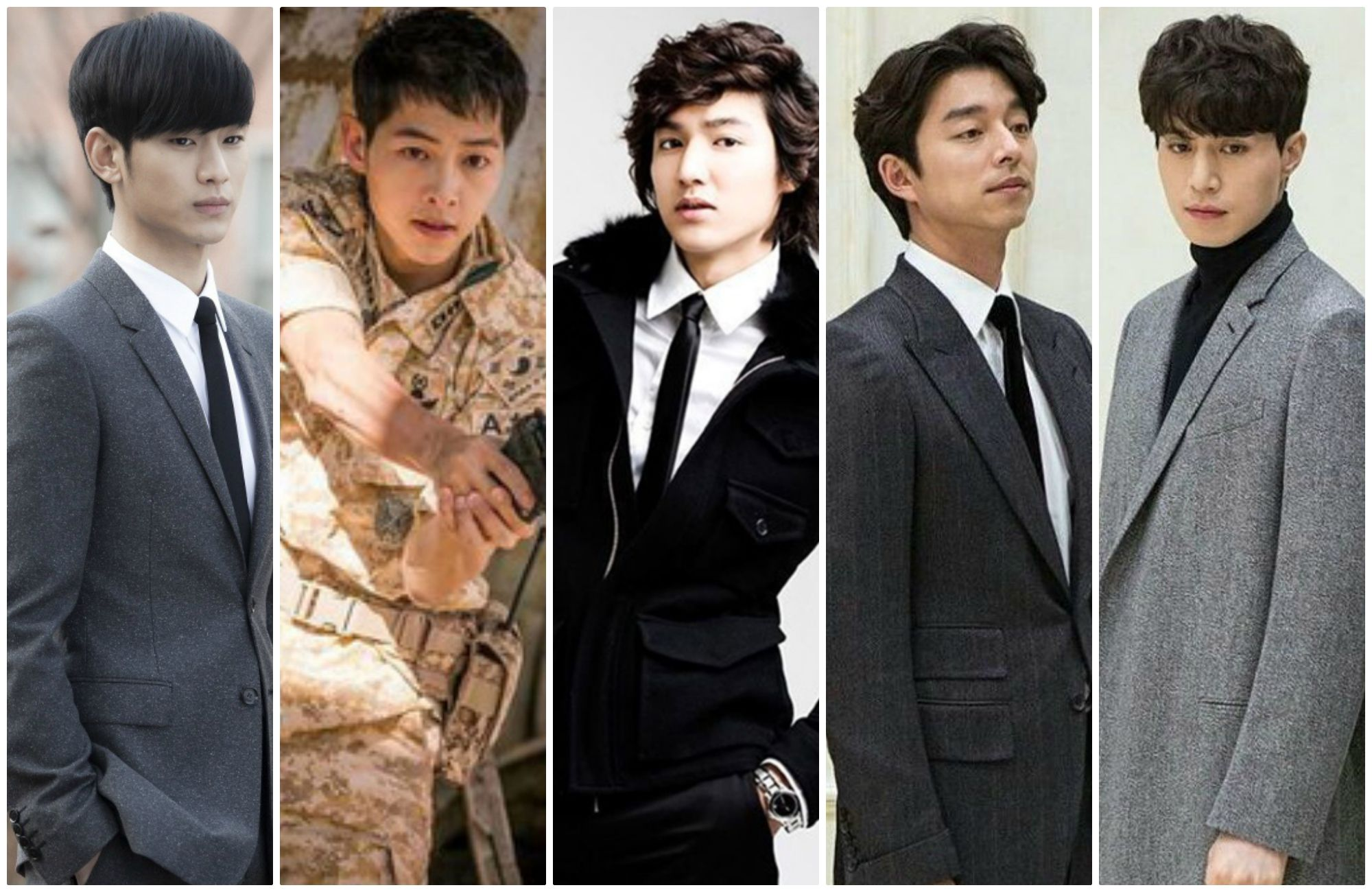 List of Korean actors have caused a hot throughout Asia