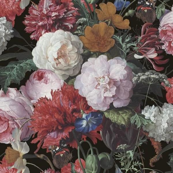 Tapeta Scienna W Kwiaty V0311214 Decoprint Tapety Na Sciane Floral Flowers Bianco