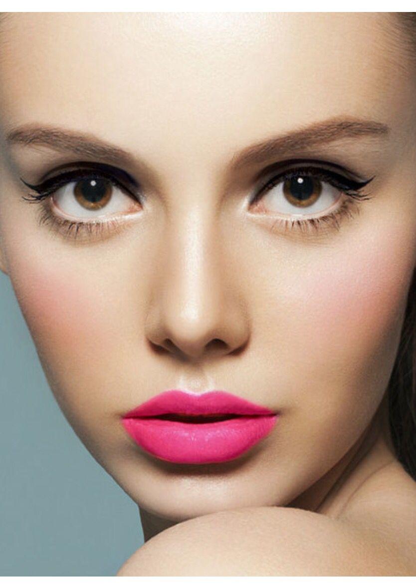 Pink Makeup Brushes: Pink Lipstick Makeup