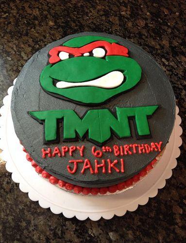 Teenage Mutant Ninja Turtles Cake By Amanda Raleigh Durham NC Birthdaycakes4free
