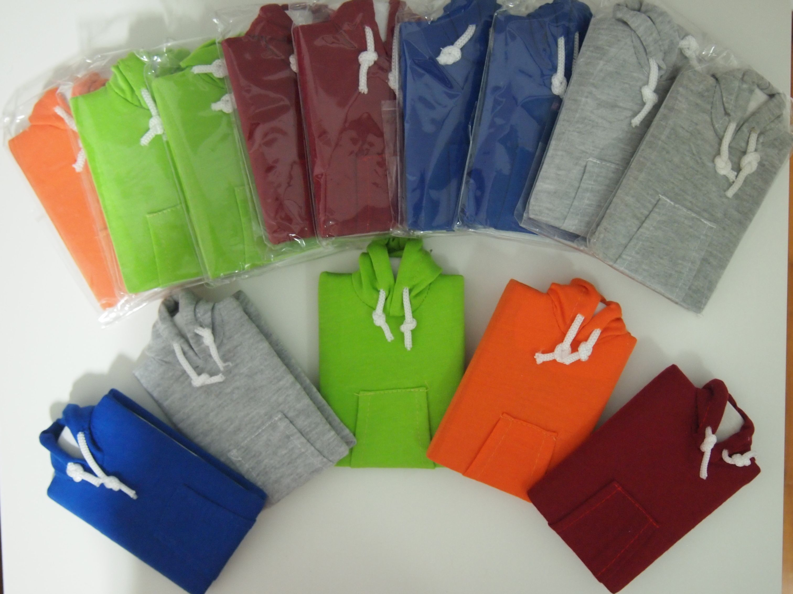 Hoodie Notebook - Overview of the colours available! Dimensions: 12 cm(Height) X 8.5 cm(width)  #hilivre #hoodie #notebook  #green #orange #grey #maroon #blue #diary #planner #handcrafted #korea
