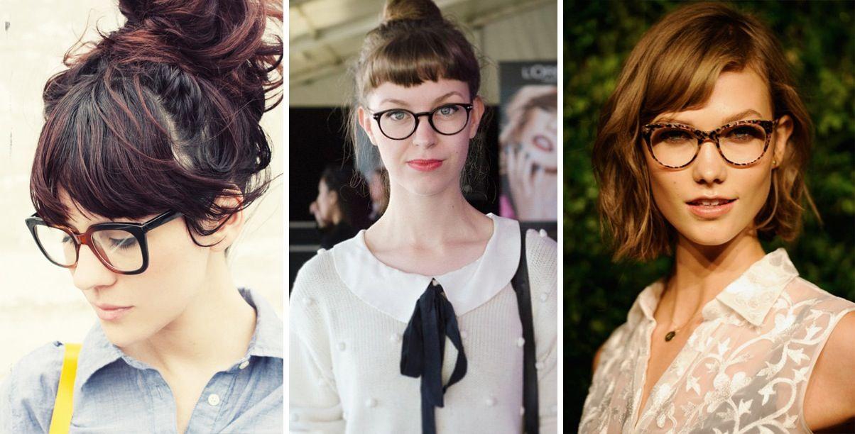 Fringe And Glasses Trendy Short Hair Styles Bangs And Glasses Hair Styles
