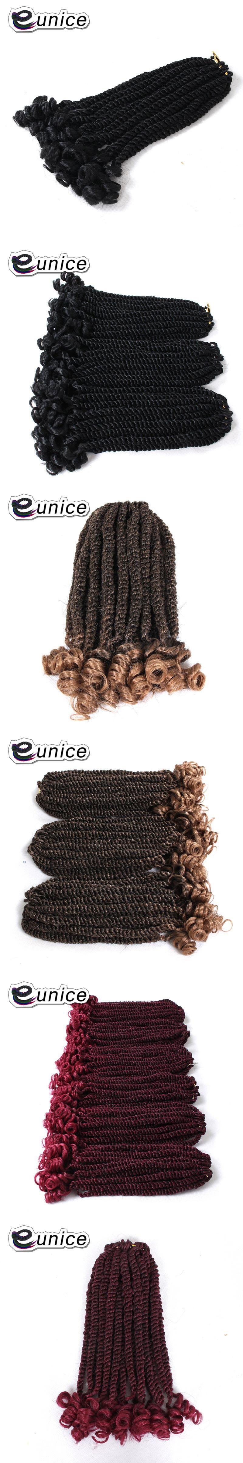 Eunice Hair Synthetic Middle Havana Twist Crochet Braiding Hair