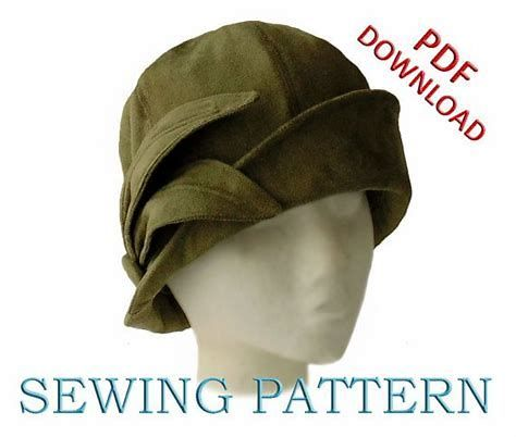 Image result for Cloche Sewing Hat Patterns Free Printable   hat ...