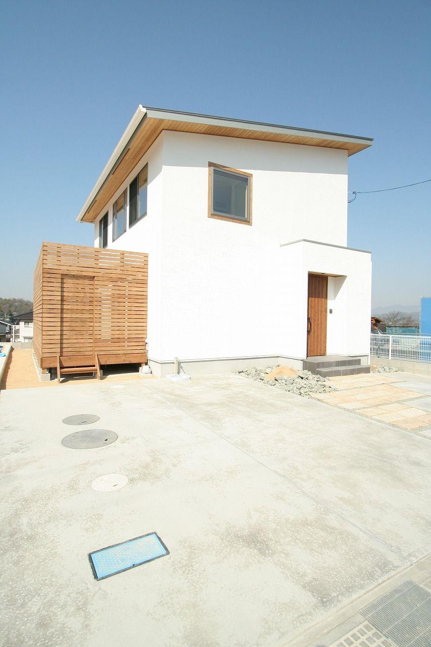 ナチュラルモダンな白い家 加度商の写真集 広島県尾道市 注文住宅 工務