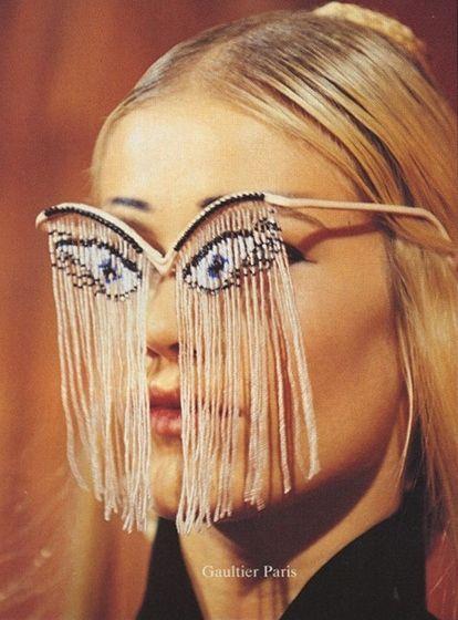 4ef775ae6776b Olho, Zine, Jean Paul Gaultier, Mensagens Instagram, Detalhes De Moda,  Imagens De Moda, Paris, Óculos, Desculpe