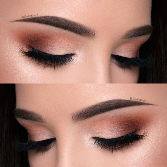 Beauties, Here is a gorgeous burgundy smokey eye from Denitslava. This might be a tad bit out of my makeup skills level. lol It's a lovely look. Denitslava has a channel on YouTube. Che…
