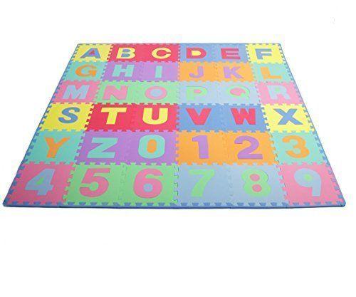 Details About Baby Play Mat Foam Floor Colorful Puzzle Alphabet