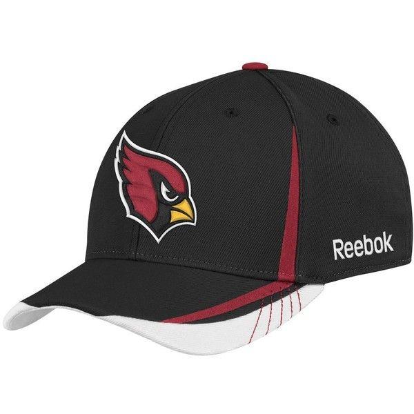 7ad3ff91444 ... buy amazon nfl arizona cardinals sideline flex fit draft hat black 8.96  via polyvore 45ed8 a3a32