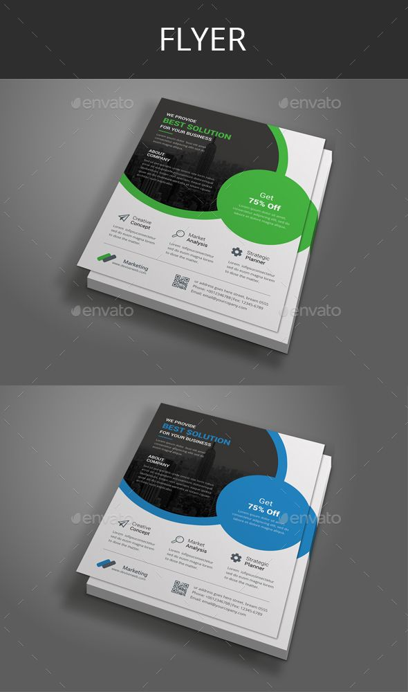 Corporate Flyer Flyer template, Real estate branding and Leaflet - corporate flyer template