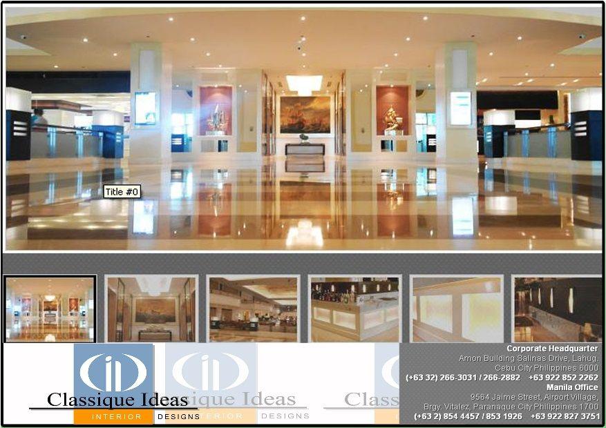 classique ideas interior designs inc cebu inc