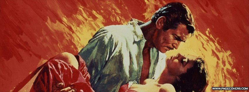 Gone With The Wind Art Cover | facebook covers | Gone with