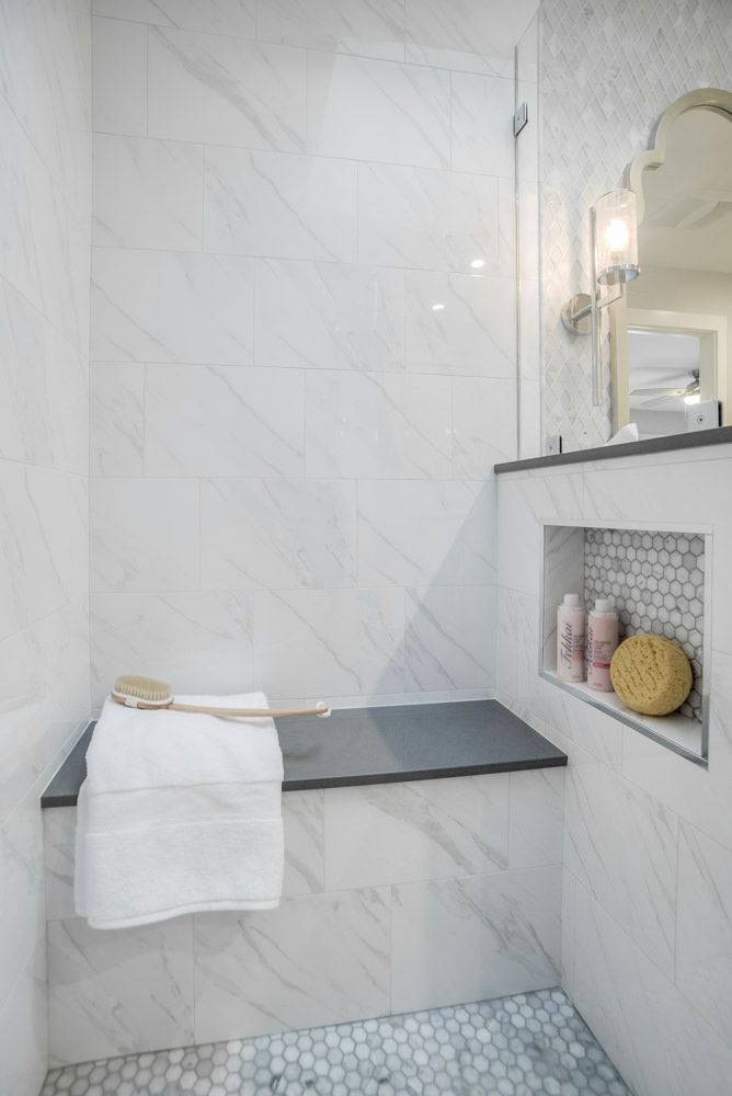 Photo of Master Shower Bench