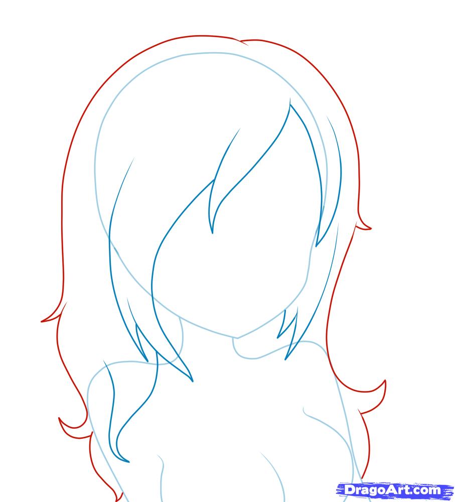Wondrous 1000 Images About Anime On Pinterest How To Draw Anime Anime Short Hairstyles For Black Women Fulllsitofus