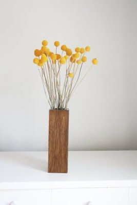 New In Shop Craspedia In Blonde Brunette Wood Home Flower Decor Craspedia Dried Flower Arrangements