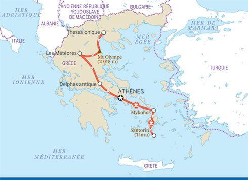 Cyclades Et Gr 232 Ce Continentale Voyages Europe Et Sejour