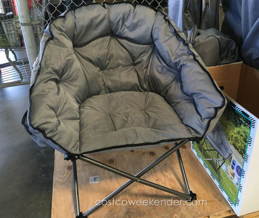folding camping chairs costco high back chair timber ridge camp cool rustic furniture desk office