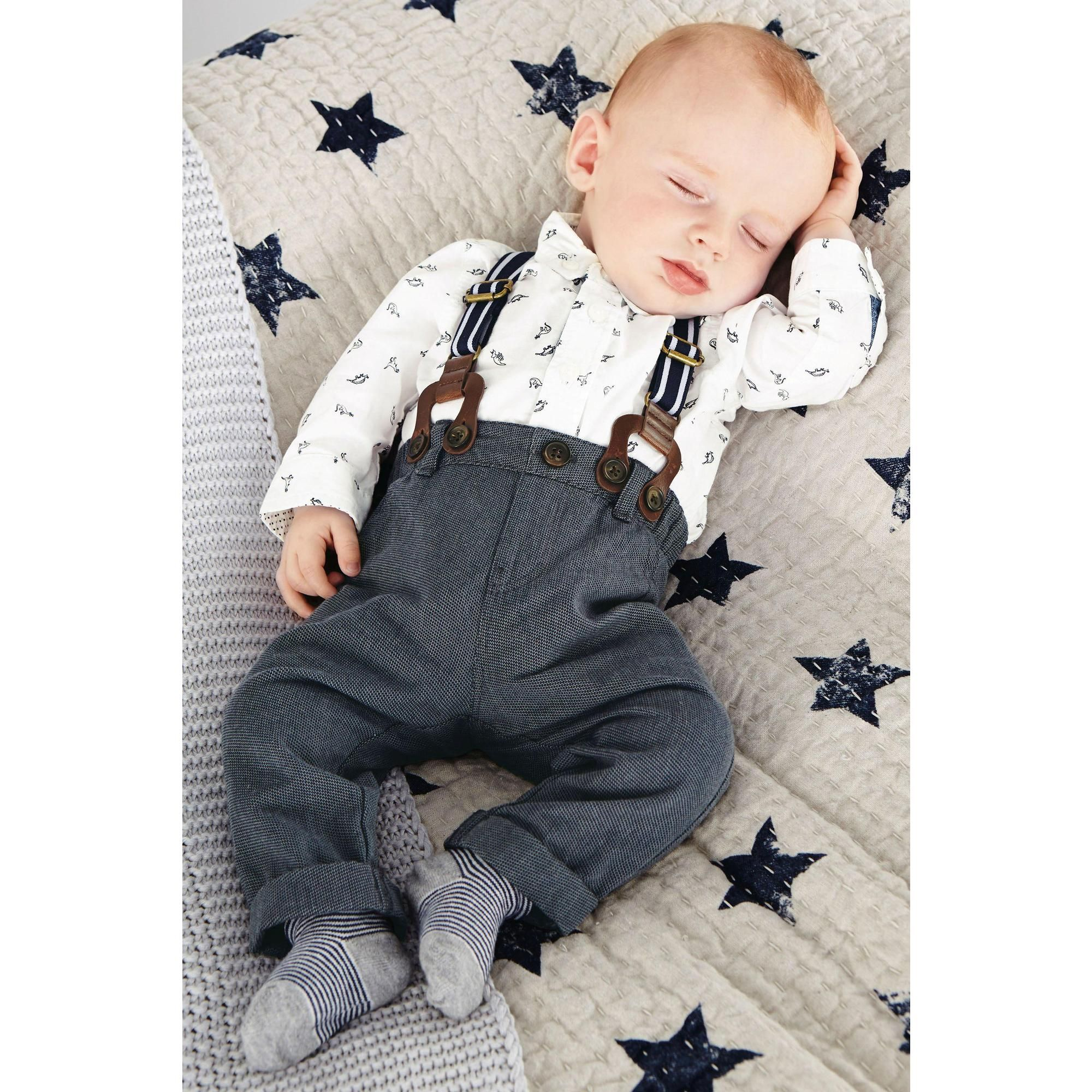ensemble chemise pantalon et bretelles b b gar on 3 suisses baby boy pinterest b b. Black Bedroom Furniture Sets. Home Design Ideas