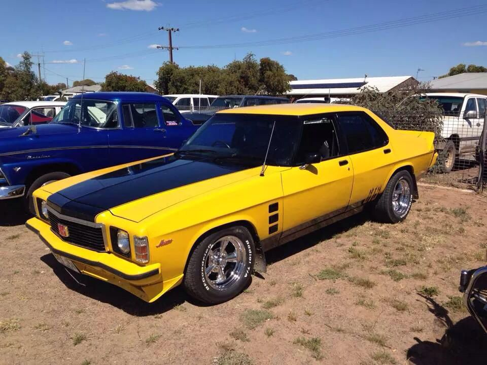 HX Holden GTS Monaro Australian cars, Custom muscle cars