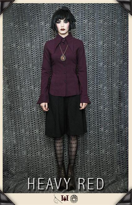 suunnittelija muoti verkossa myytävänä paras myynti Cunning dolour gothic dress shirt | All I want for Christmas ...