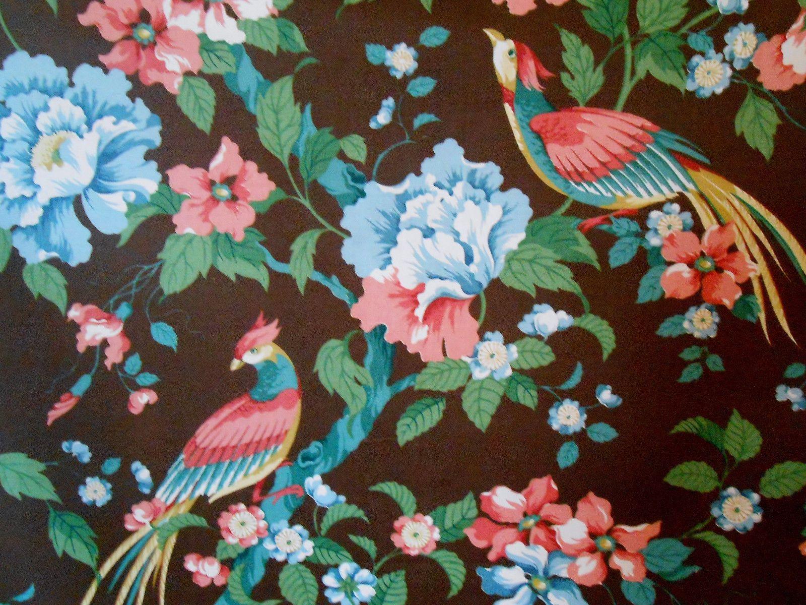 Details About Vintage Stroheim Romann Fabric 6 12 Yds