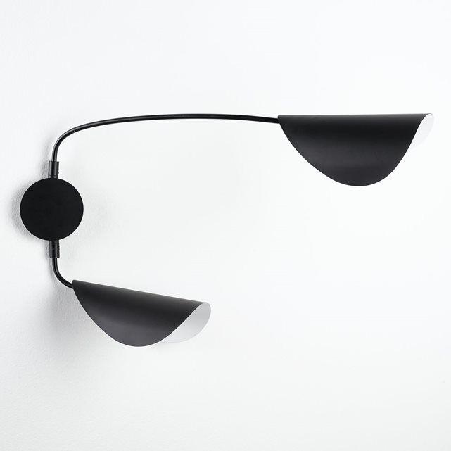 applique 2 bras funambule design pas trop cher pinterest funambule appliques et douille. Black Bedroom Furniture Sets. Home Design Ideas
