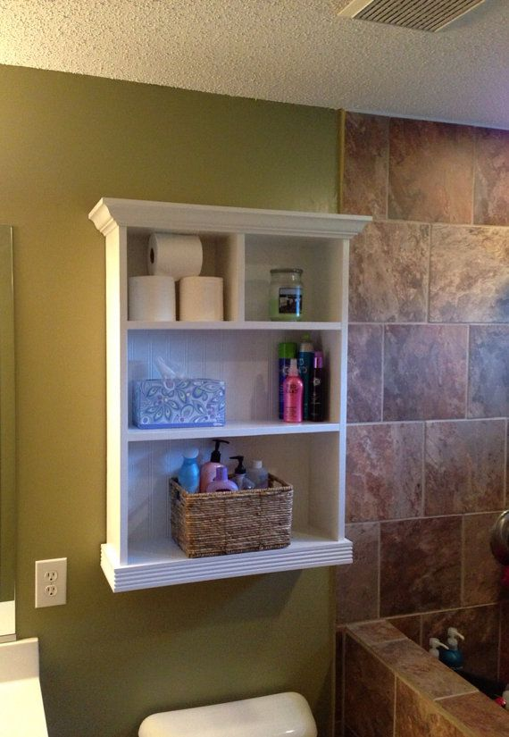 Bathroom Storage Cabinet By Jrscustomwoodwork On Etsy