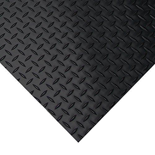 Rubber Floor Tile Maintenance: The Benefits Of Vinyl Composite Tile (VCT) Garage Flooring