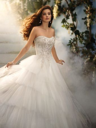 Disney Fairy Tale Weddings by #AlfredAngelo Style 209 #Cinderella ...