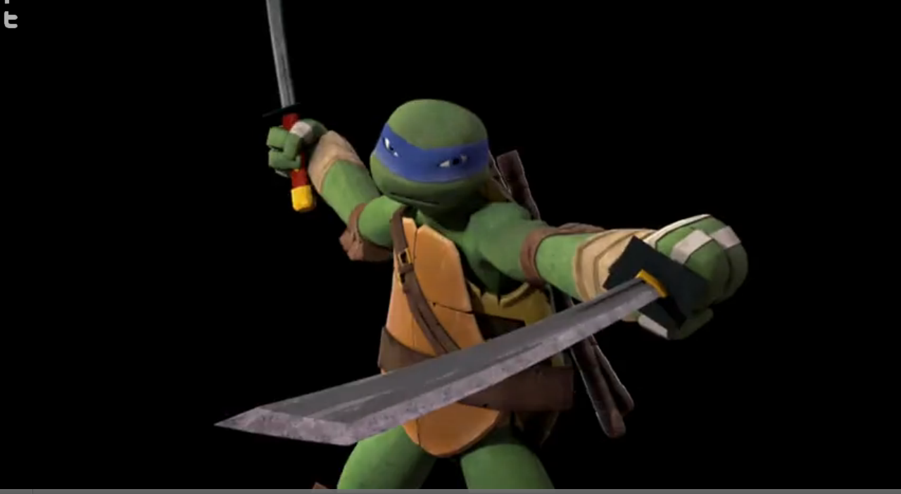 Leo Fighting Tmnt 2012 Google Search Tmnt 2012 Tmnt Leonardo