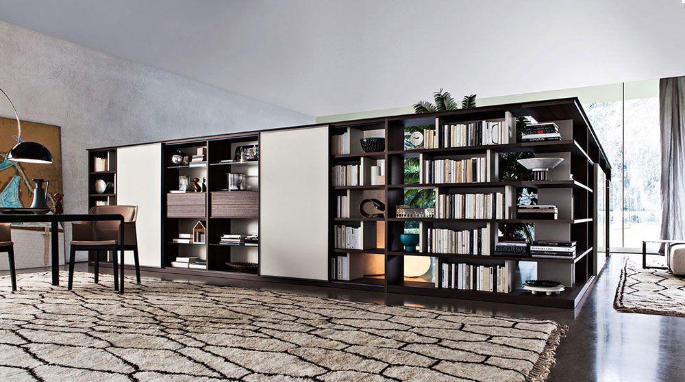 Meuble design noir et blanc   wwwdenisinterieurbe/ #meubles