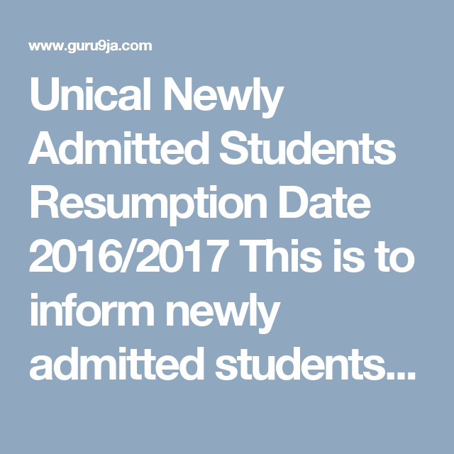 When Is Unical Resuming Images - resume format examples 2018