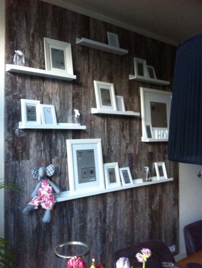 Plank Muur Blind.Creatief Idee Voor Lijstjes House Garden Muur Muur Ideeen