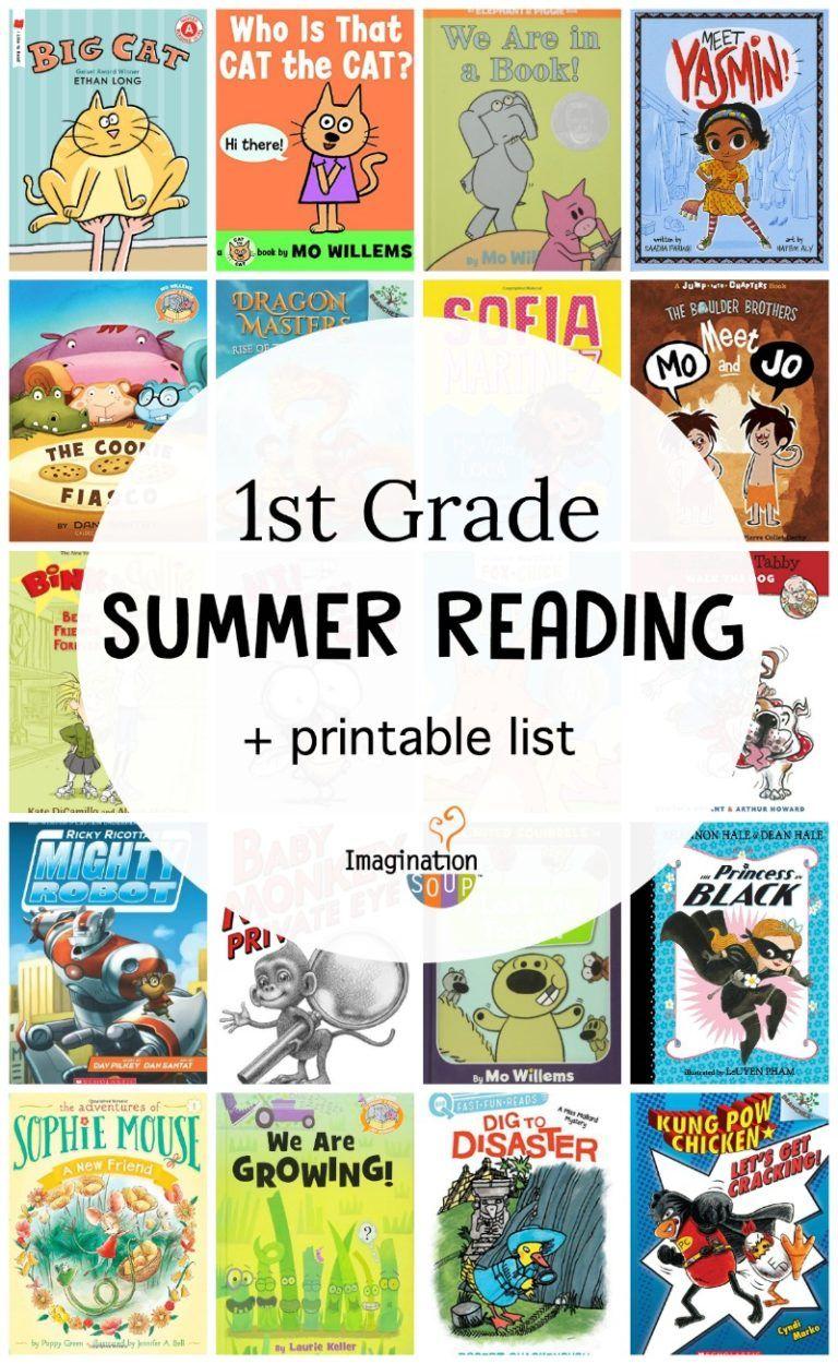 1st grade summer reading list of books 1st grade reading