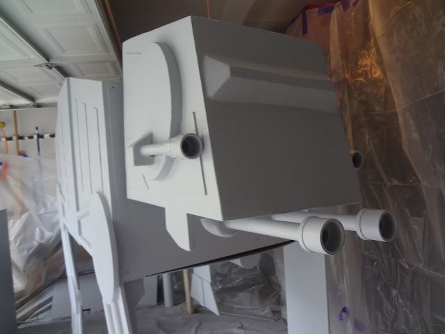 The Dutilly Family: AT-AT Bed Complete!