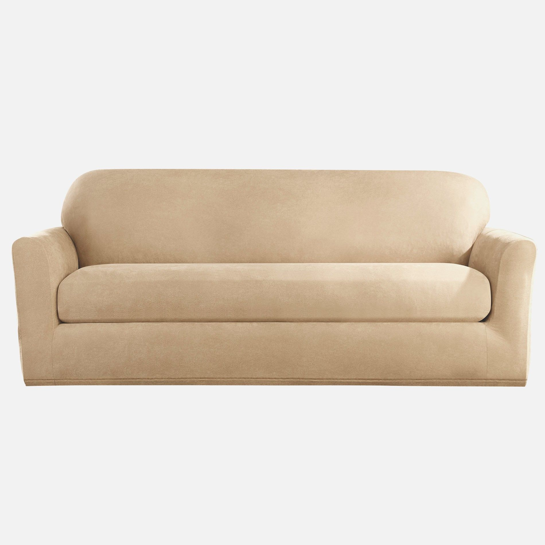 sofa slipcovers three cushions klaussner sleeper mattress options slipcover 3 cushion for