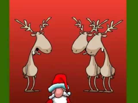 Funny Christmas Song - YouTube Holiday Pinterest Manualidades