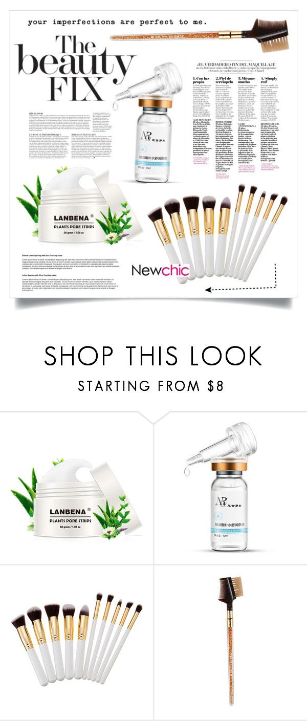 """NEWCHIC #39"" by virgamaleva ❤ liked on Polyvore featuring beauty and Anja"