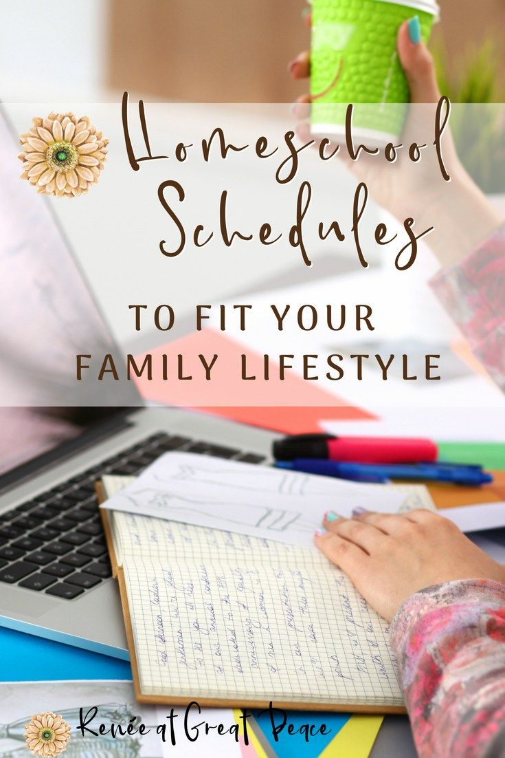 Homeschool Schedules to Fit Your Family Lifestyle