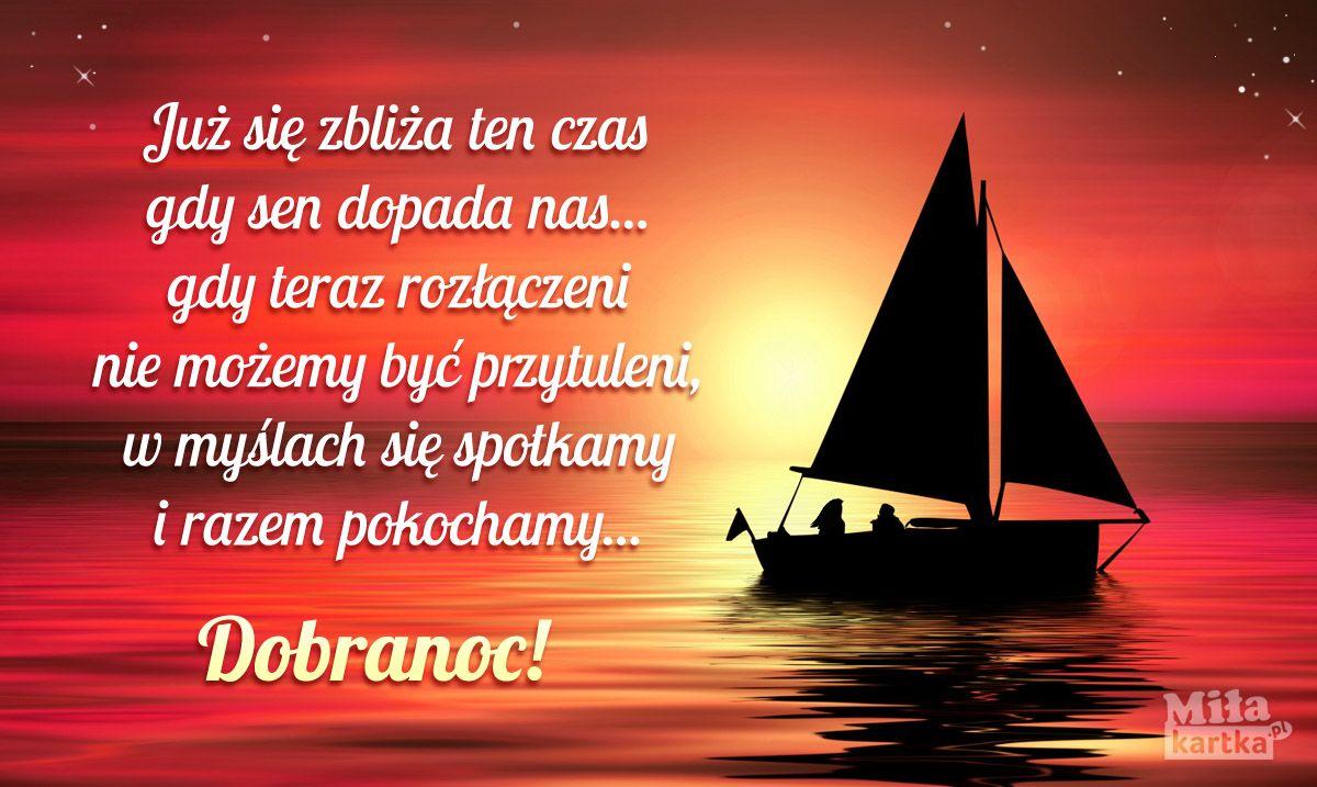 W Myślach Się Spotkamy Miłość Dobranoc Sen Polska