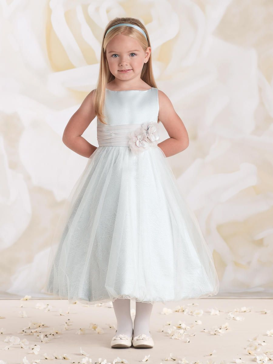 a0df4dbbaf9 Check out the deal on Joan Calabrese for Mon Cheri 115322 Flower Girls Dress  at French Novelty