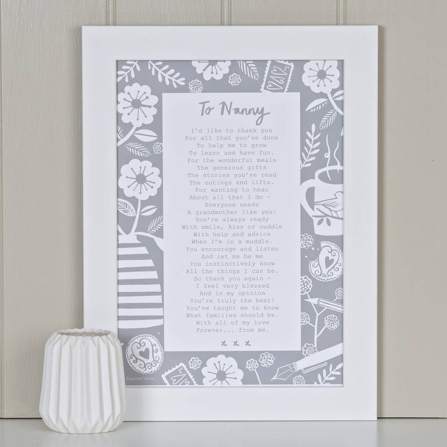 how to address a letter to the uk a letter to grandmother poem print grandchildren 4295
