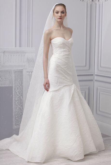 vestido de novia 2013 corte sirena, drapeado por la cintura