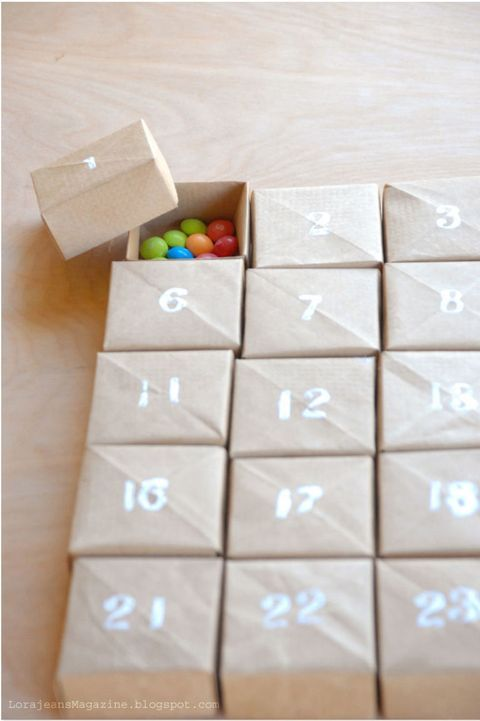 Count Down to Christmas With These Fun Advent Calendar Ideas