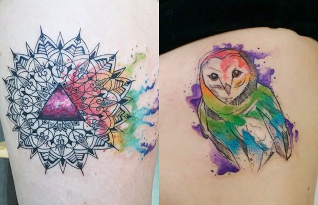 watercolor tattoo Archives - Follow the Colours