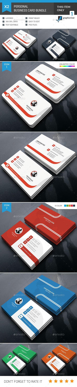 Personal business card bundle photoshop psd company bundle personal business card bundle photoshop psd company bundle available here httpsgraphicriveritempersonal business card bundle14141663ref reheart Images