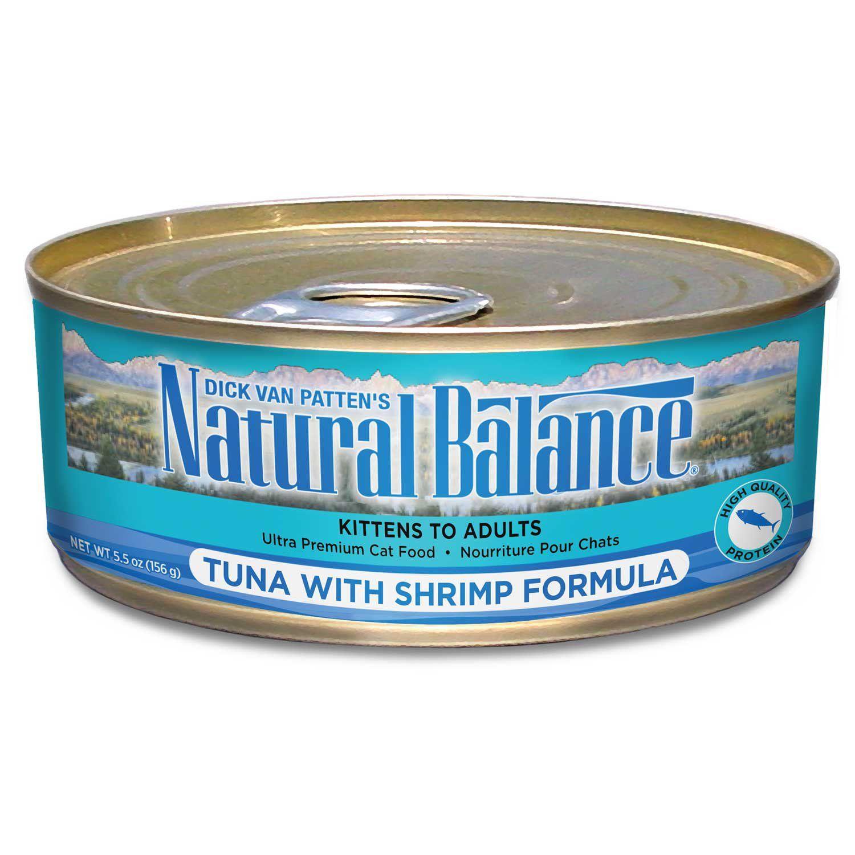 Natural Balance Ultra Premium Tuna with Shrimp Wet Cat Food