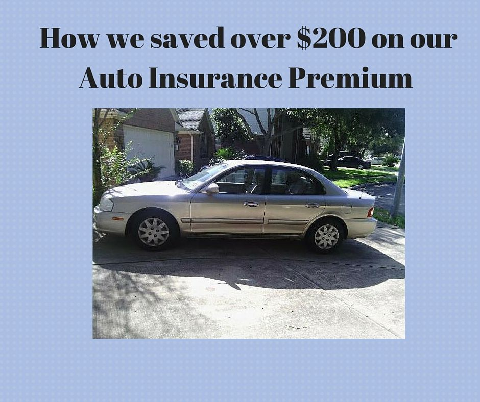 How I Saved Over 200 On My Auto Insurance Premium Car Insurance