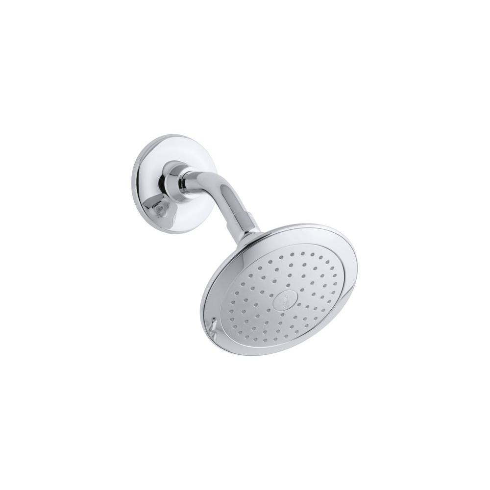 Kohler Alteo 1 Spray 5 7 In Single Wall Mount Fixed Rain Shower