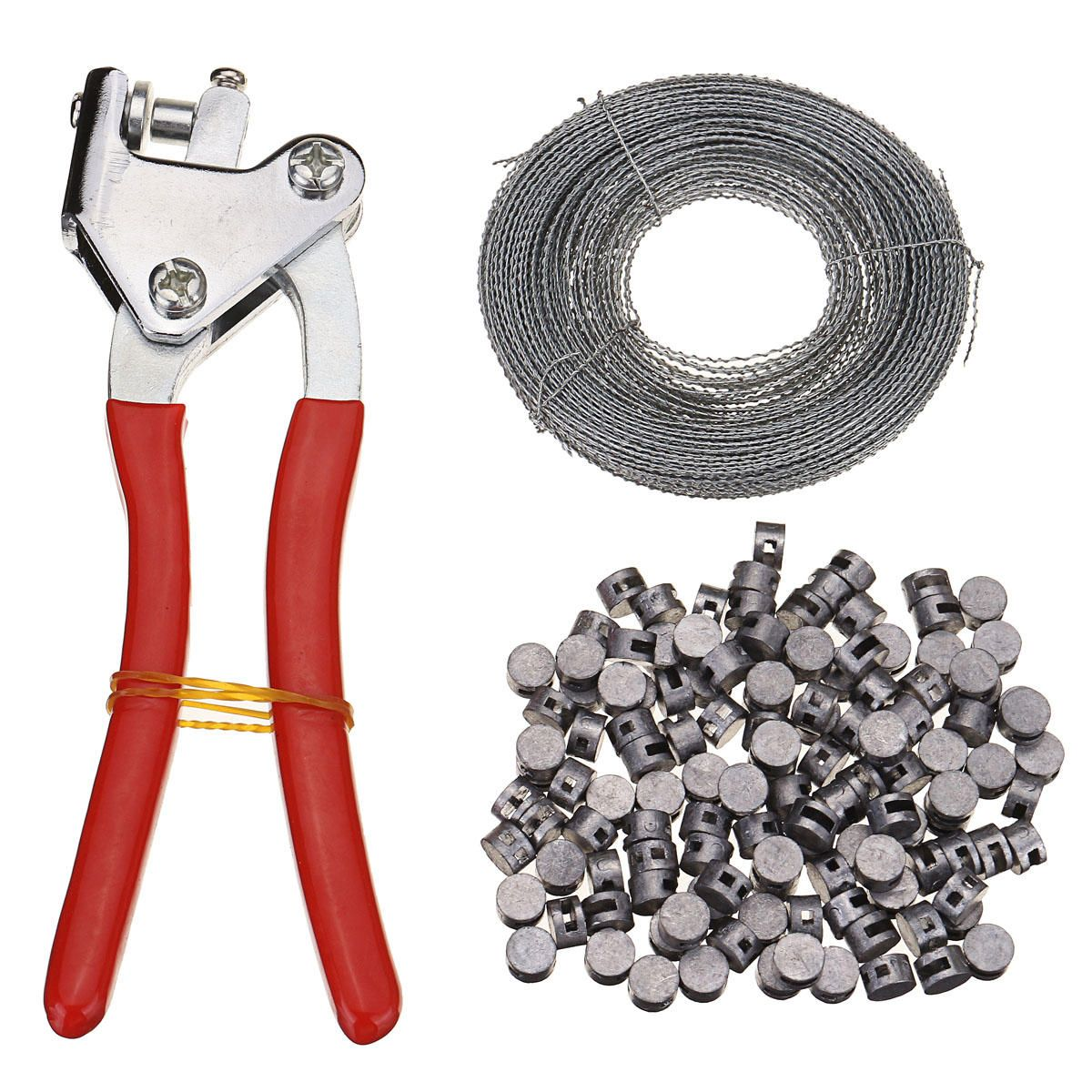 Lead Seal Ring Piler Meter Seal Press Security with 15 Yards Iron ...